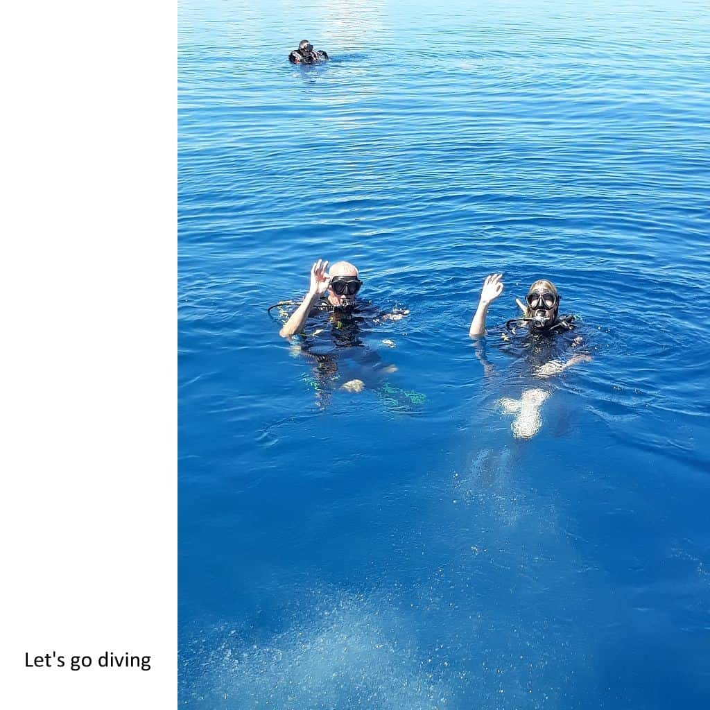 10 Let's go diving