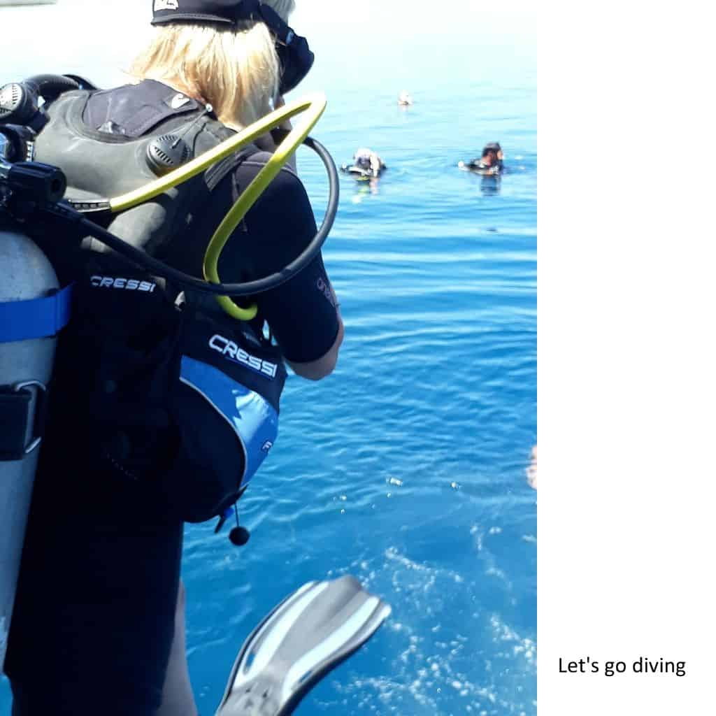 11 Let's go diving
